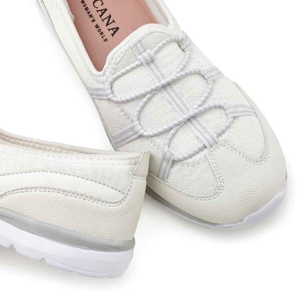 LASCANA Slip-On Sneaker, im sportiven Look