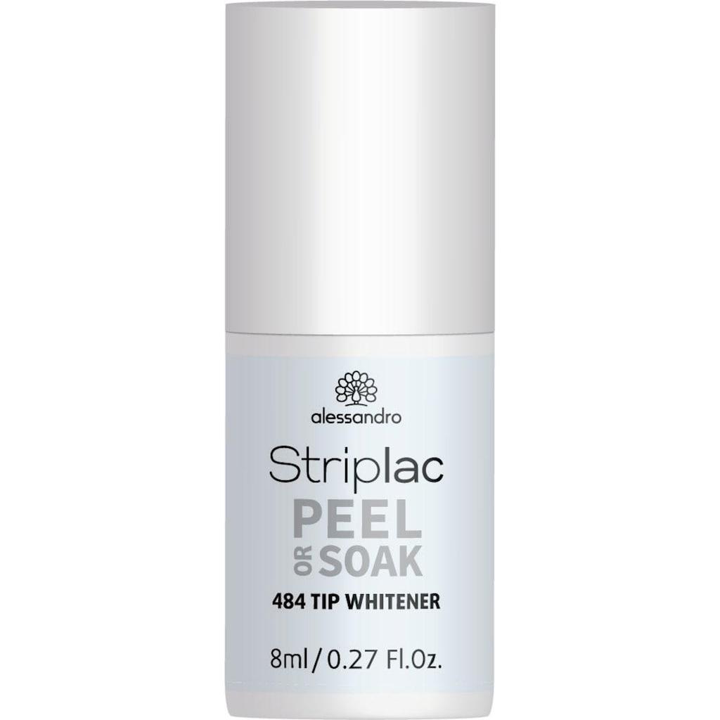 alessandro international UV-Nagellack »Striplac TIP WHITENER«