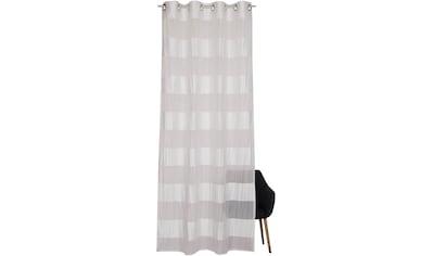 Vorhang, »Vista«, SCHÖNER WOHNEN - Kollektion, Ösen 1 Stück kaufen