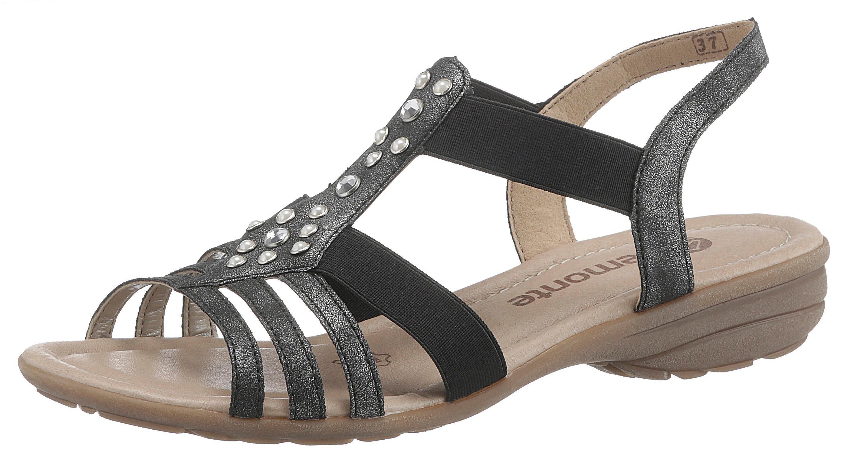 Remonte Sandale Damenmode/Schuhe/Sandalen/Keilsandalen