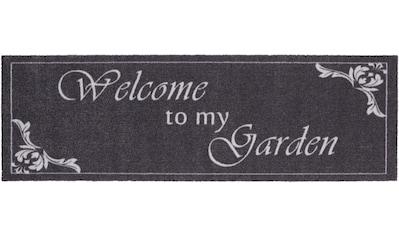 HANSE Home Läufer »Welcome To My Garden«, rechteckig, 5 mm Höhe, waschbar, In- und... kaufen