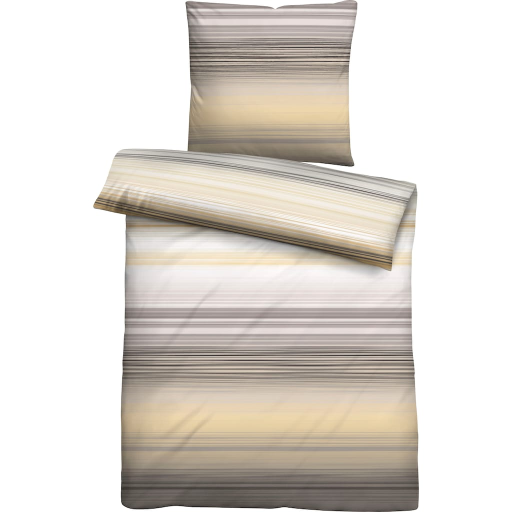 Biberna Bettwäsche »Fiete«, mit trendigen Streifen
