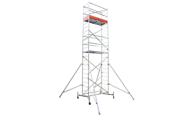 KRAUSE Fahrgerüst »ClimTec Komplettgerüst«, Max. Arbeitshöhe 7 m, inkl. Fahrrollensatz 150 mm kaufen