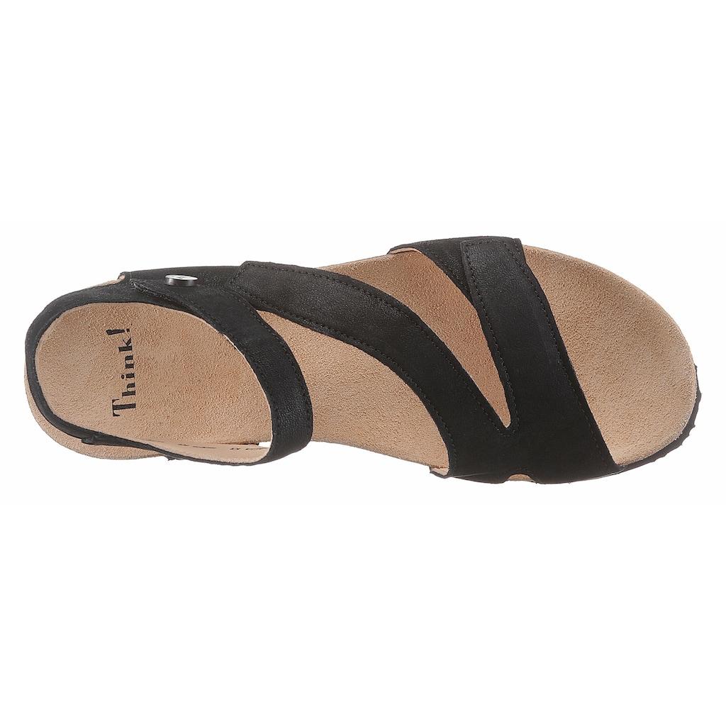 Think! Sandalette, mit Klettriemchen