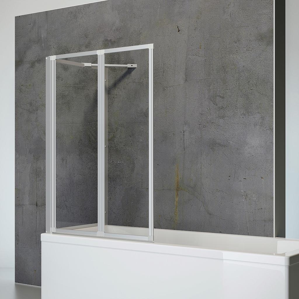 Schulte Badewannenfaltwand »Komfort«, mit Seitenwand