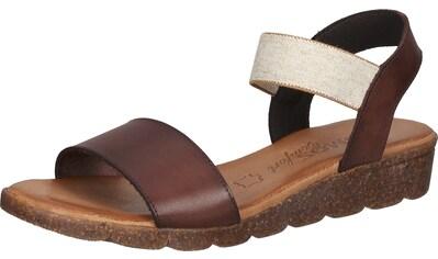 COSMOS Comfort Keilsandalette »Leder« kaufen