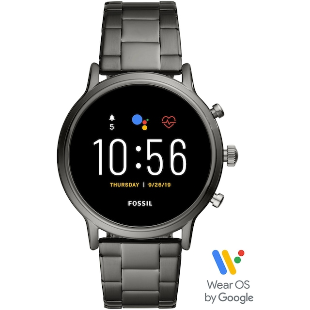 Fossil Smartwatches THE CARLYLE HR SMARTWATCH, FTW4024 Smartwatch