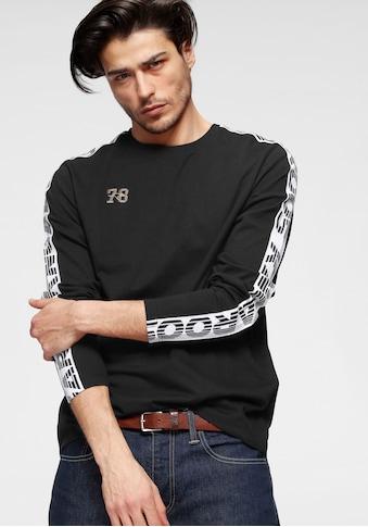 KangaROOS T-Shirt, mit Lopoprint am Ärmel kaufen