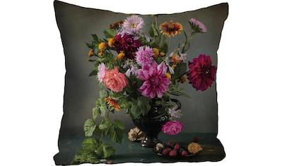 queence Kissenhülle »»Blumenstrauß««, (1 St.) kaufen