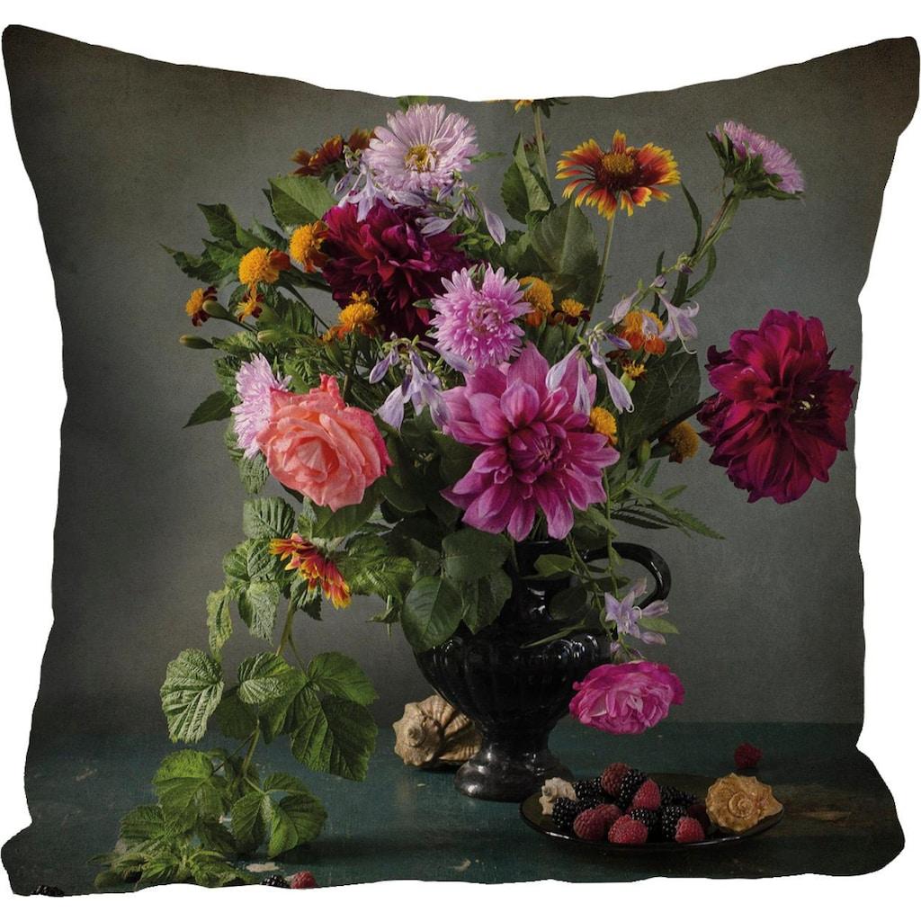 queence Kissenhülle »»Blumenstrauß««, (1 St.)