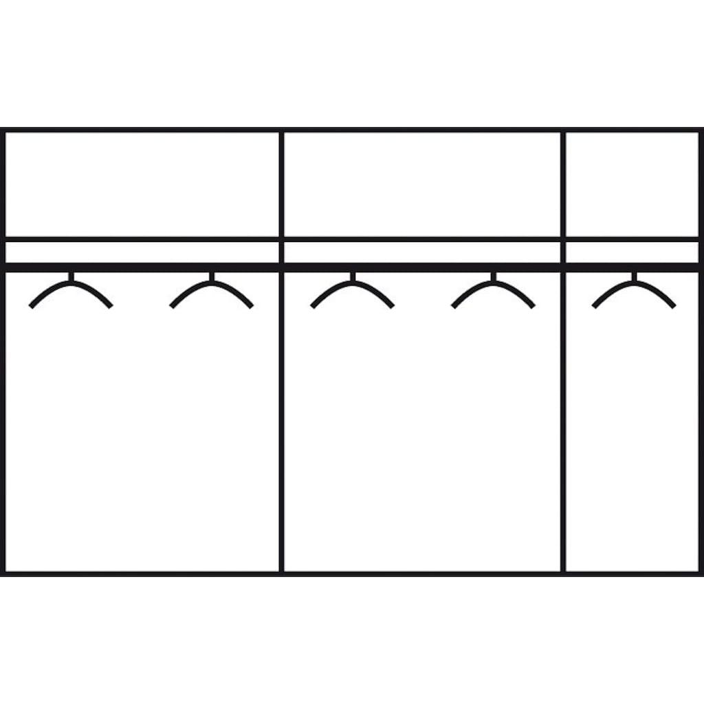 rauch ORANGE Schwebetürenschrank »Quadra«, mit Spiegelelementen