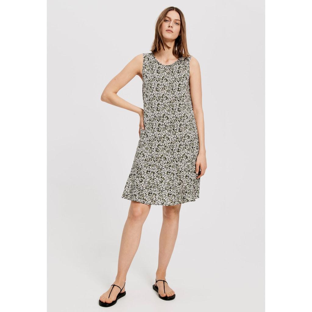 OPUS A-Linien-Kleid, mit abstraktem Muster