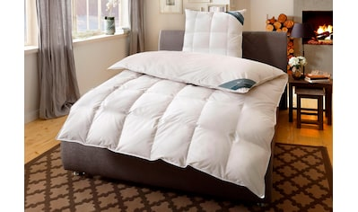 Haeussling Daunenbettdecke »BodyPerfect«, polarwarm, Füllung 60% Daunen, 40% Federn, Bezug 100% Baumwolle, (1 St.), Hochwertiges Naturprodukt kaufen