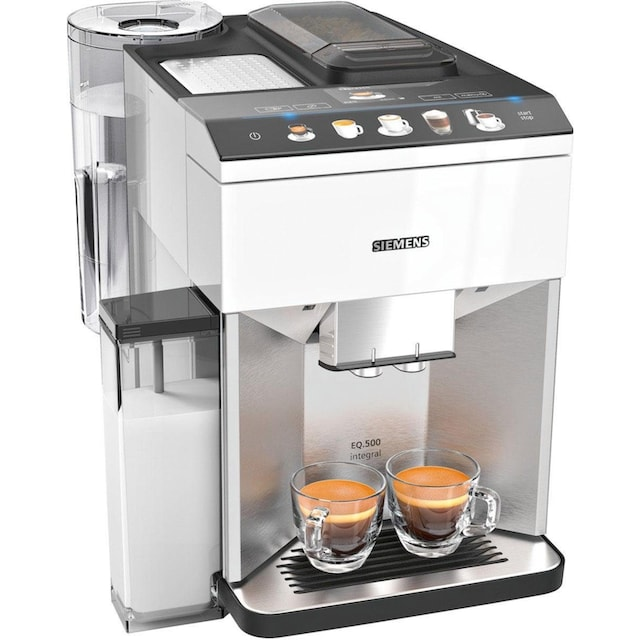 SIEMENS Kaffeevollautomat EQ.500 integral TQ507D02, 1,7l Tank, Scheibenmahlwerk