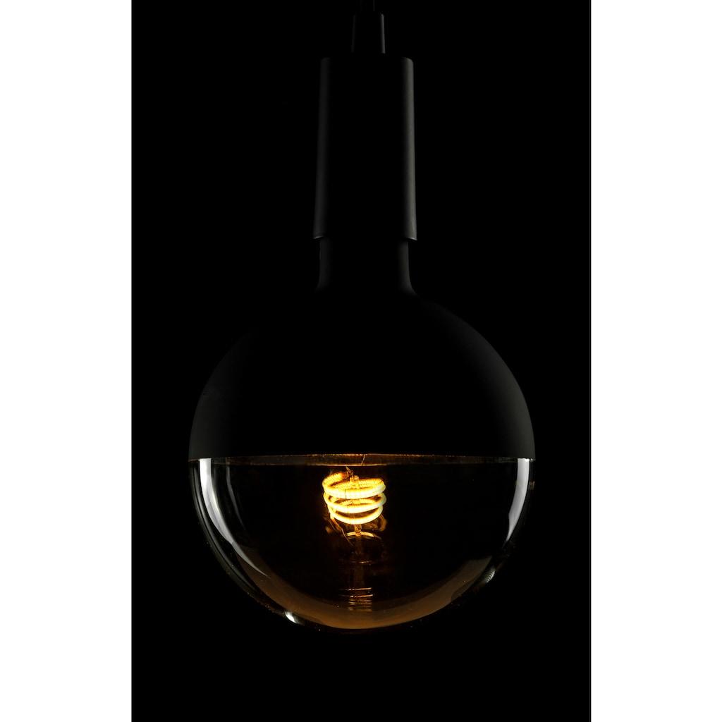 SEGULA LED-Leuchtmittel »Globe«, E27, 1 St., Extra-Warmweiß, große LED Lampe, LED Lampe dimmbar, schwarze matt LED, verspiegelte LED Lampe, LED Leuchtmittel dimmbar, LED Globe