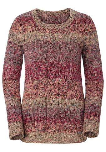 Collection L. Pullover in leicht melierter Qualität kaufen