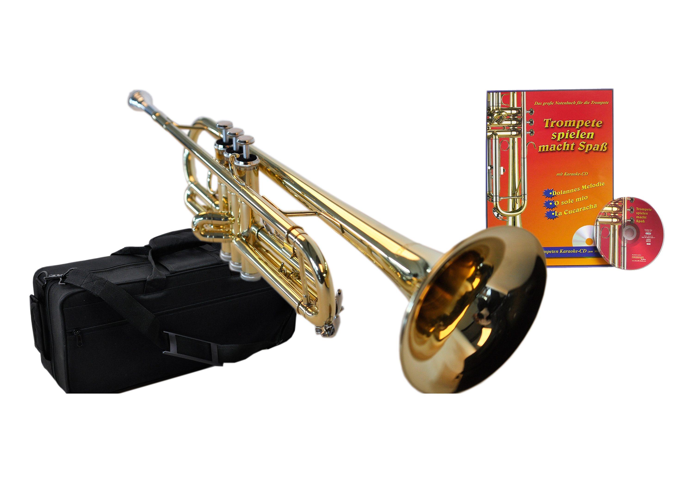Clifton Bb-Trompete goldfarben Blasinstrumente Musikinstrumente Audio, MP3, Musik