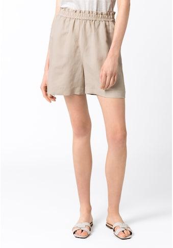 HALLHUBER Shorts »Leinenshorts mit Gummizug« kaufen
