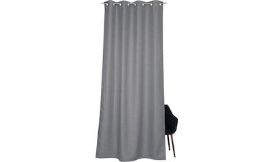 Vorhang, »Opaco«, SCHÖNER WOHNEN - Kollektion, Ösen 1 Stück kaufen