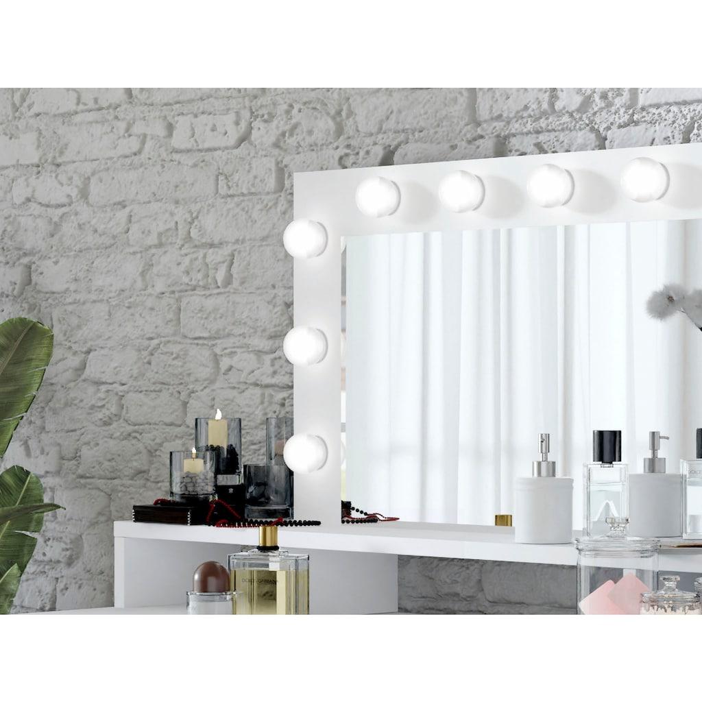 Helvetia Schminktisch »Diva«, mit LED Beleuchtung