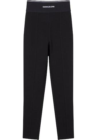 Calvin Klein Jeans Leggings »MILANO LOGO ELASTIC LEGGING« kaufen