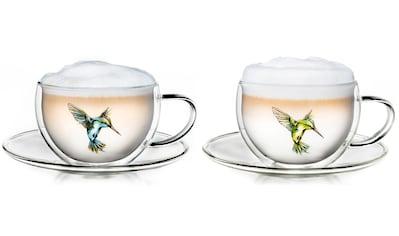 Creano Thermotasse »Hummi«, (Set, 2 tlg., 2 Tassen, 2 Untertssen), 2-teilig kaufen