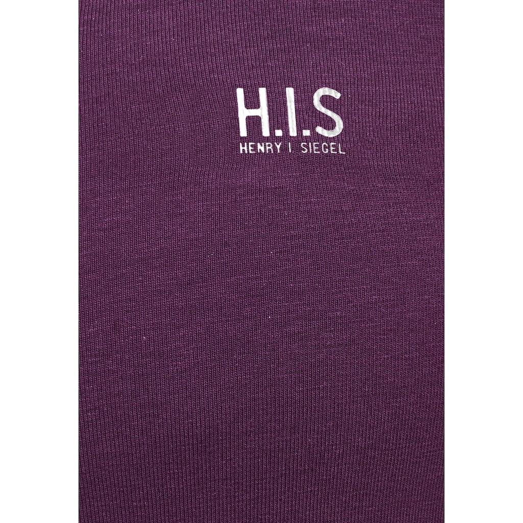 H.I.S Tanktop, (Packung, 3er-Pack)