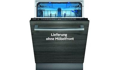 SIEMENS vollintegrierbarer Geschirrspüler »SX65ZX49CE«, iQ500, SX65ZX49CE, 14 Maßgedecke kaufen