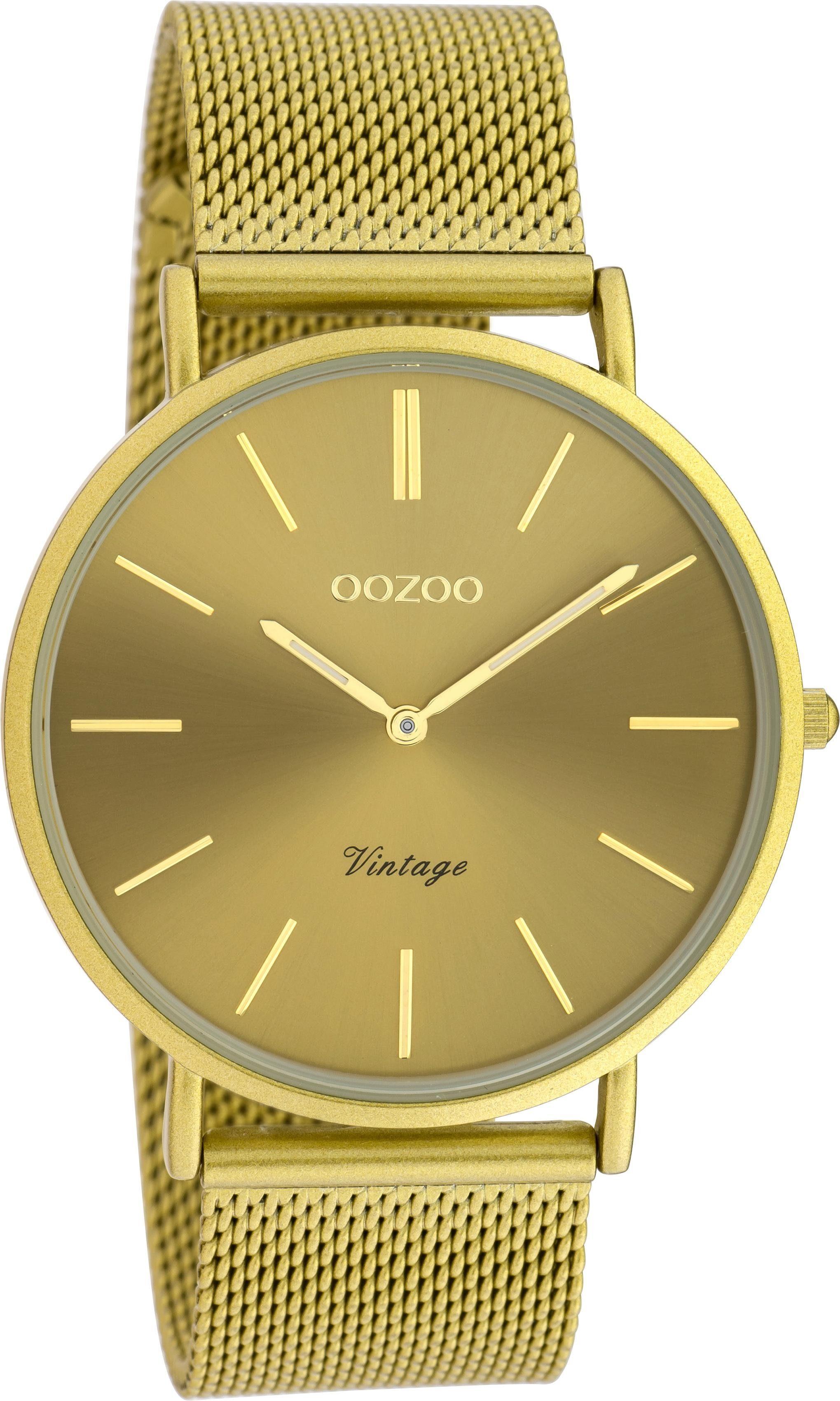 OOZOO Quarzuhr C20000 | Uhren > Quarzuhren | Gelb | Oozoo
