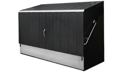 Trimetals Fahrradbox, BxTxH: 196x89x133 cm kaufen
