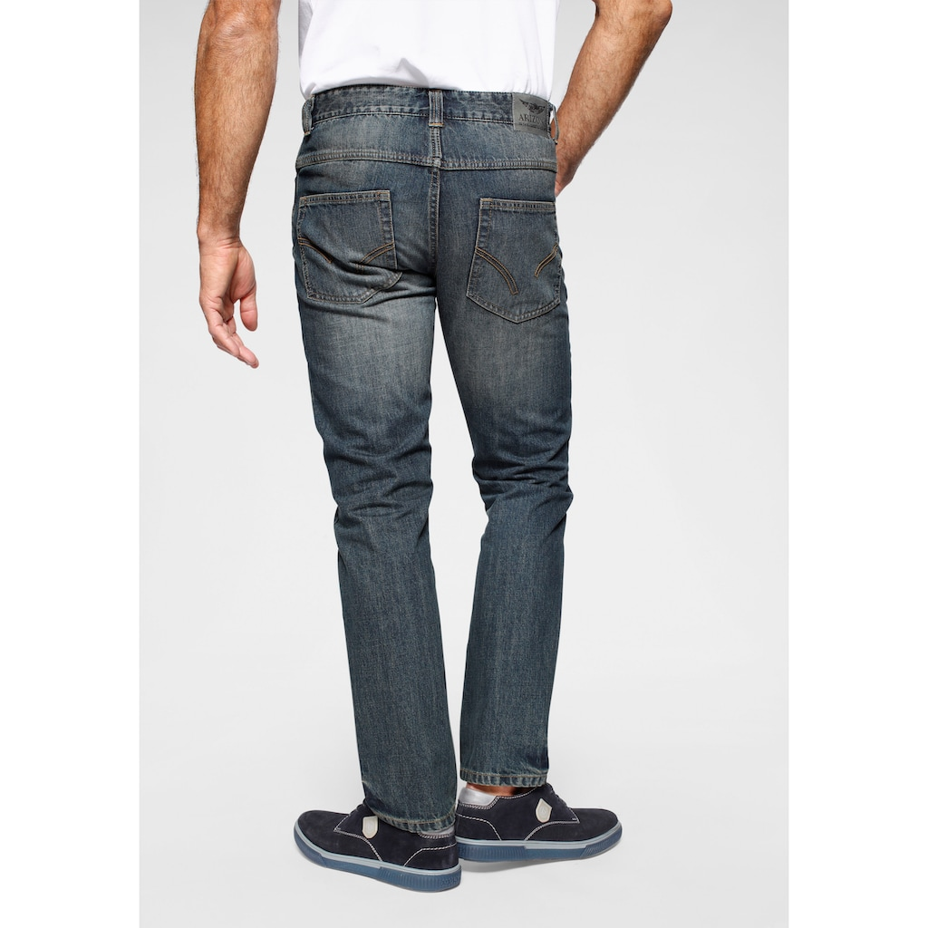 Arizona Straight-Jeans »Arizona Jeans Dirty used«