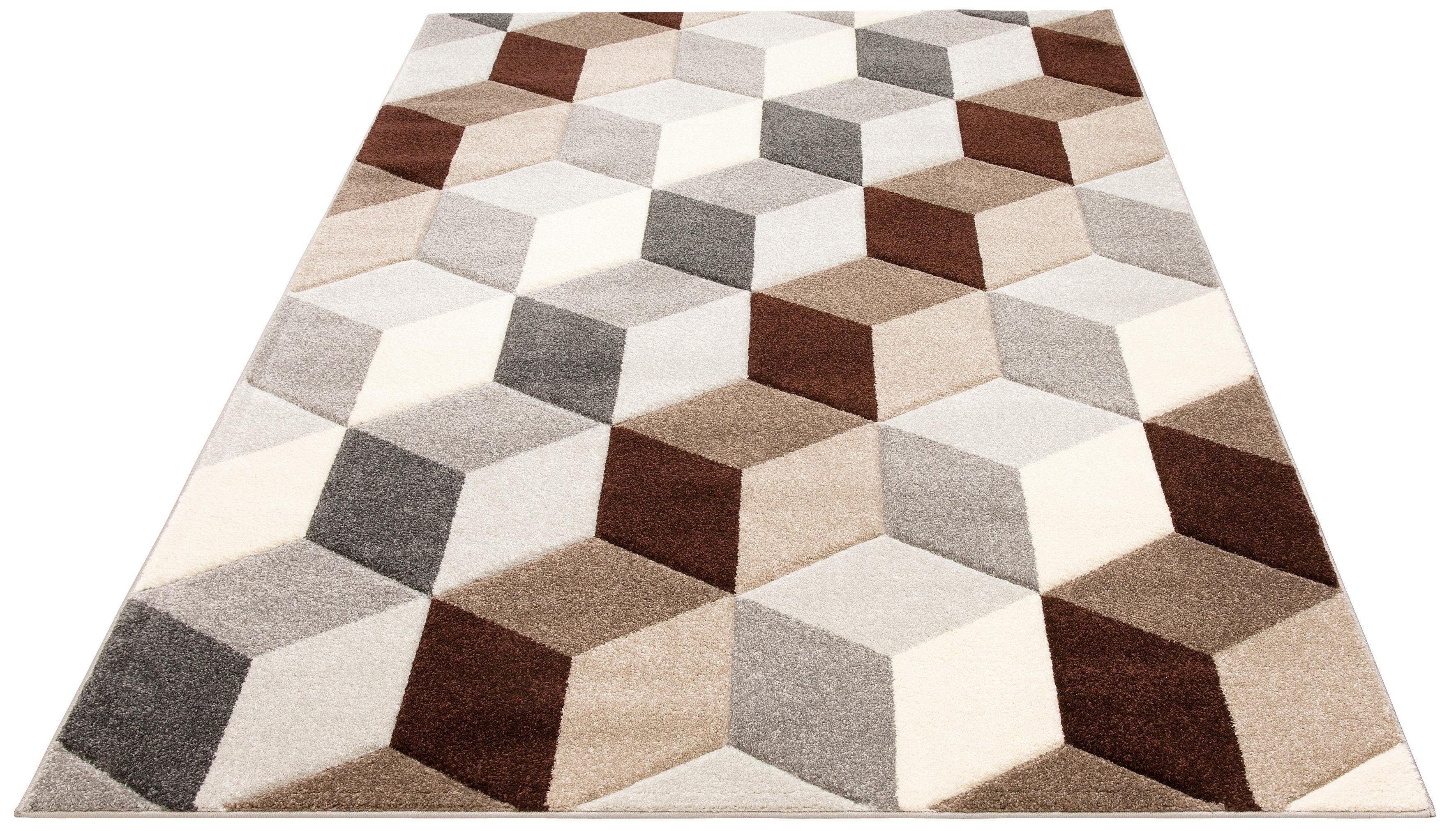 Teppich Alba my home rechteckig Höhe 14 mm maschinell gewebt