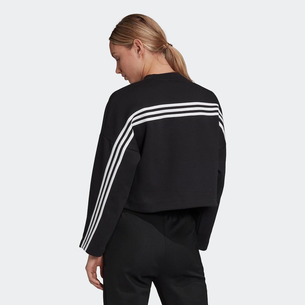 adidas Performance Sweatshirt »3-STREIFEN DOUBLEKNIT«