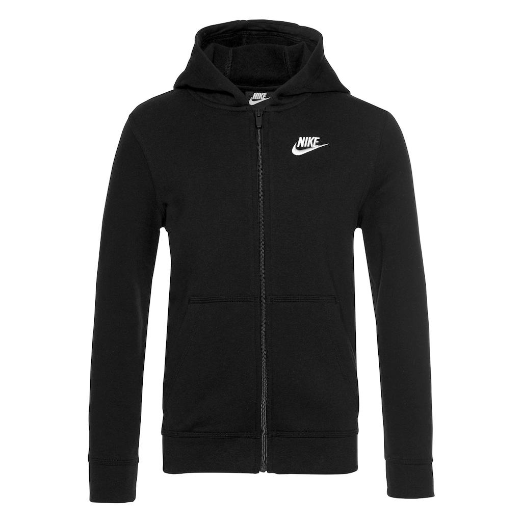 Nike Sportswear Kapuzensweatjacke »B NSW HOODIE FZ CLUB«
