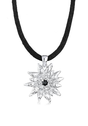 Elli Collierkettchen »Edelweiss Swarovski Kristalle Sterling Silber« kaufen