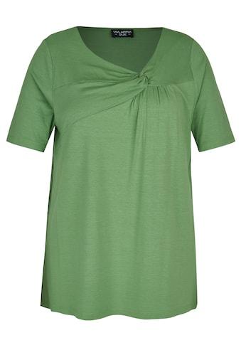 VIA APPIA DUE T-Shirt, mit unifarbenem Stoff kaufen