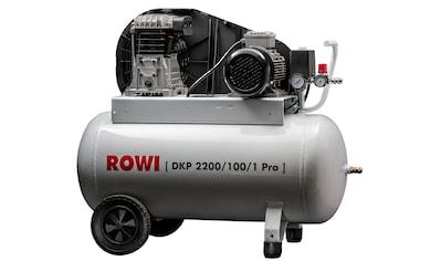 Rowi Kompressor »2200/100/1« kaufen