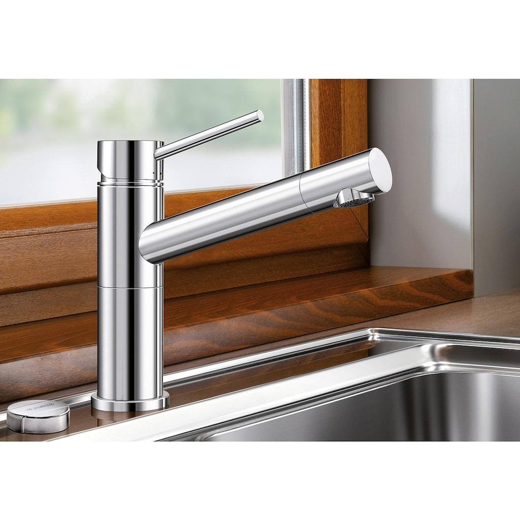 Blanco Küchenarmatur »ALTA-F Compact«, Hochdruck, mit herausnehmbarer Vorfensterarmatur