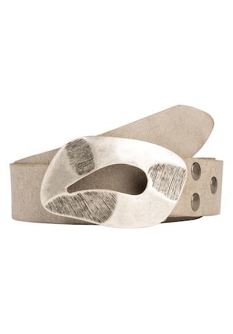 RETTUNGSRING by showroom 019° Ledergürtel, mit austauschbarer Abdruck-Schließe kaufen