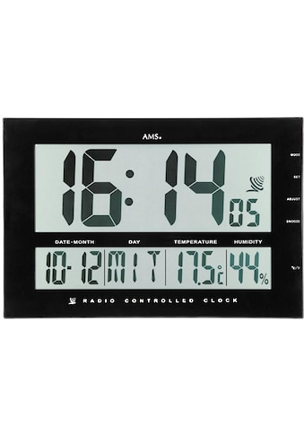 AMS Funkwanduhr »F5895«, mit Alarm kaufen
