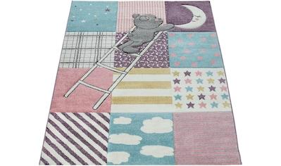 Paco Home Kinderteppich »Ela 399«, rechteckig, 17 mm Höhe, mit Konturenschnitt kaufen