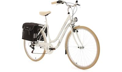 KS Cycling Cityrad »Verona«, 6 Gang Shimano Tourney Schaltwerk, Kettenschaltung kaufen