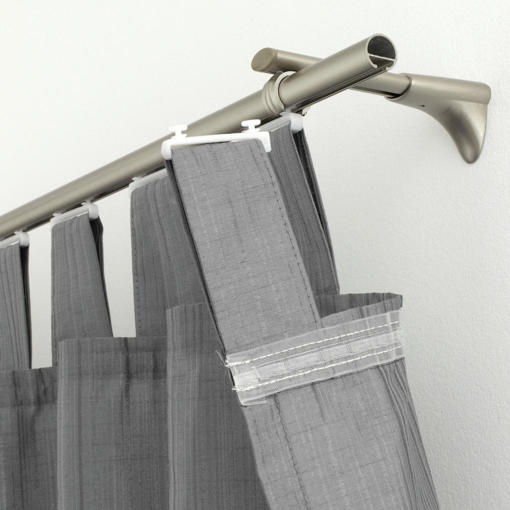 GARDINIA Klick-Gleiter »Schlaufengleiter«, Serie Flächenvorhang Technik Atlanta