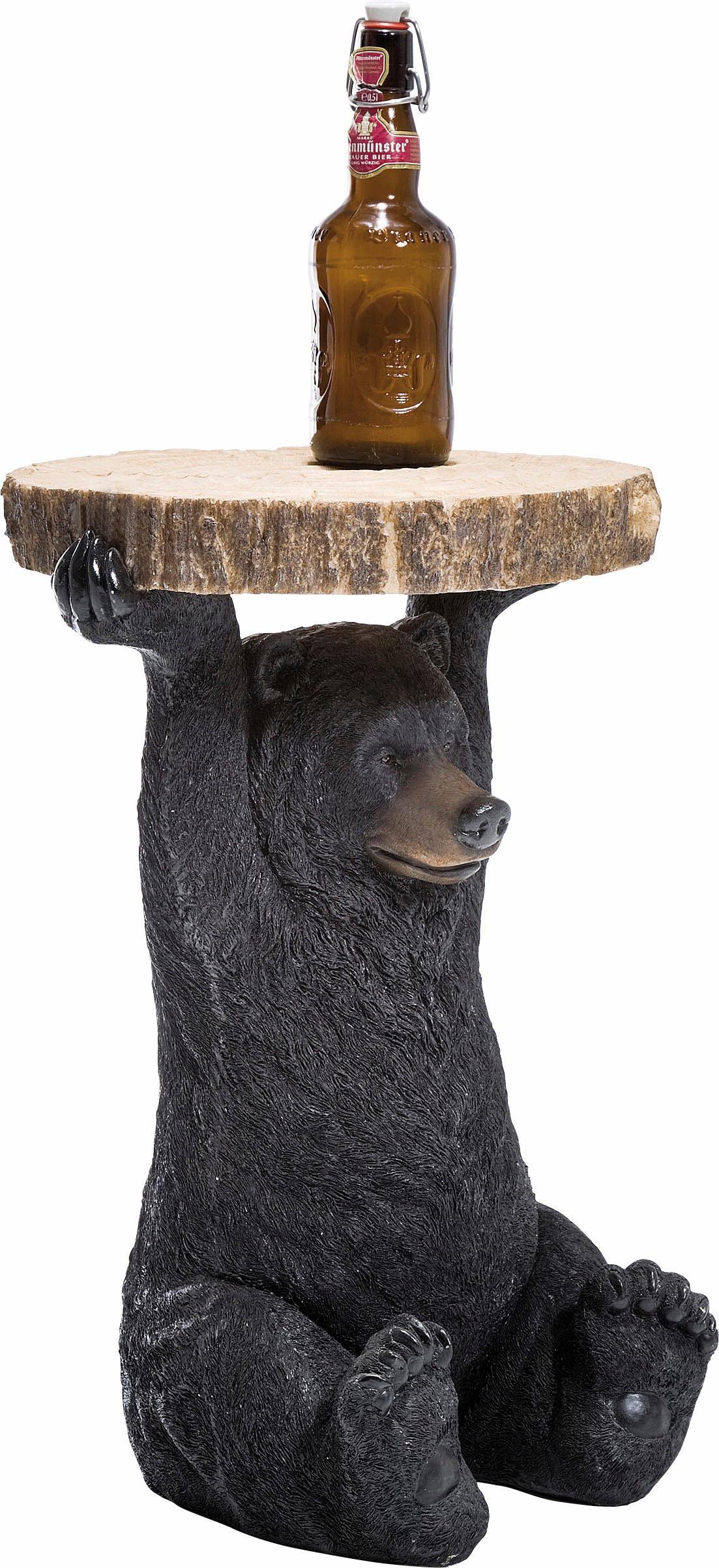 KARE Beistelltisch Animal Bear, braun