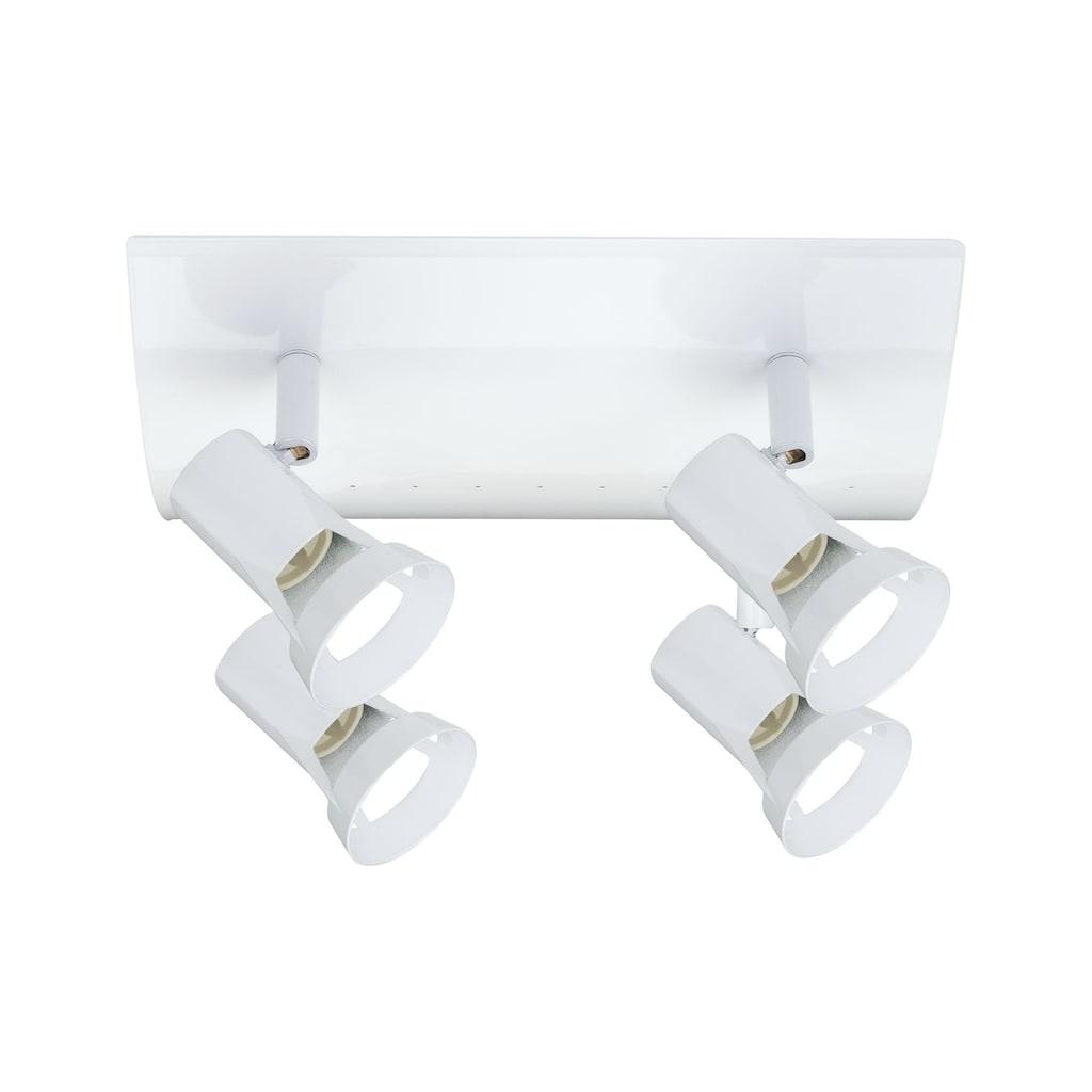 Paulmann LED Deckenleuchte »4er-Spot GU10 Weiß Teja ohne Leuchtmittel, max. 10W«, GU10, 1 St.