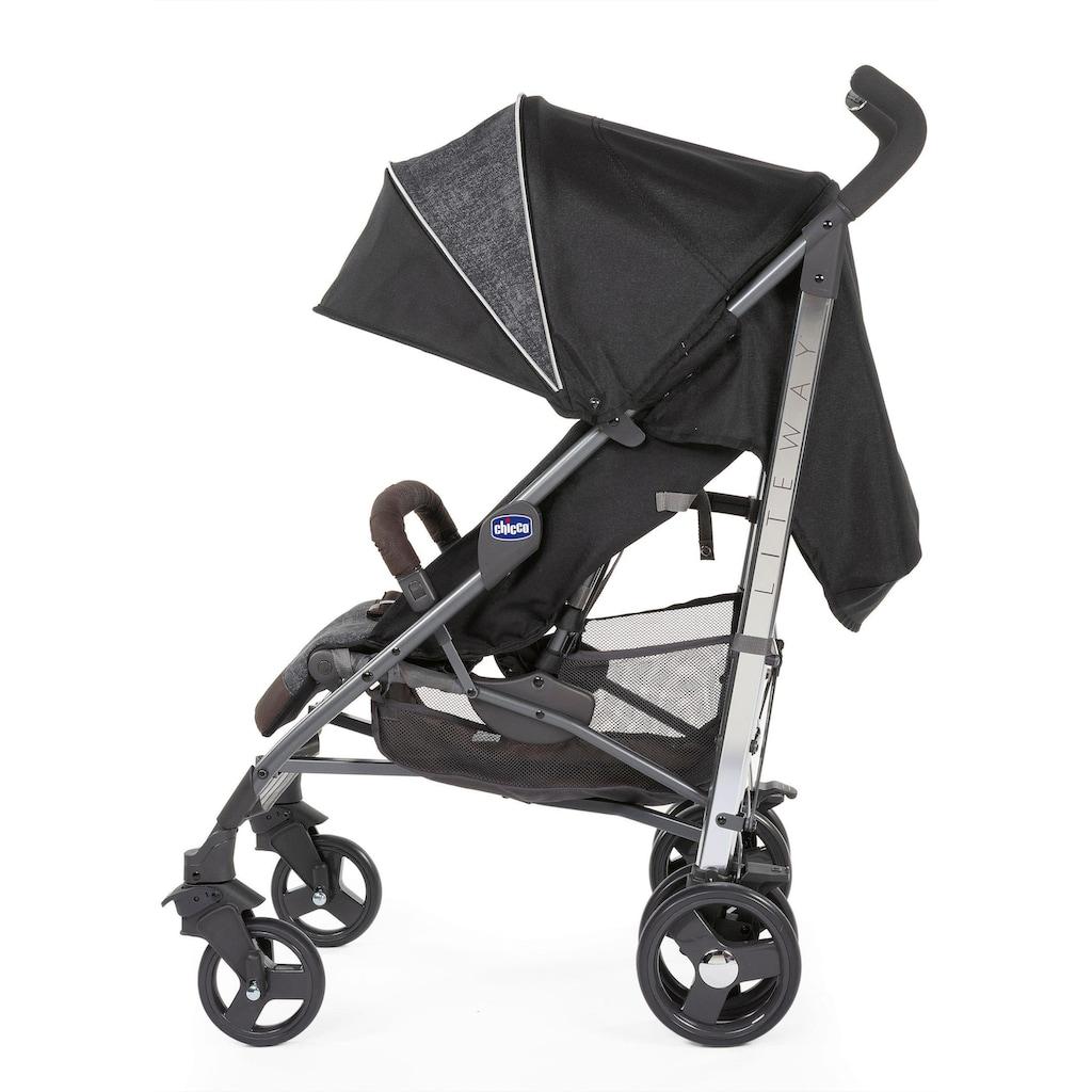 Chicco Sportbuggy »Lite Way 3, Intrigue«, 22 kg, ; Kinderwagen, Buggy, Sportwagen, Kinder-Buggy, Kinderbuggy, Sport-Kinderwagen