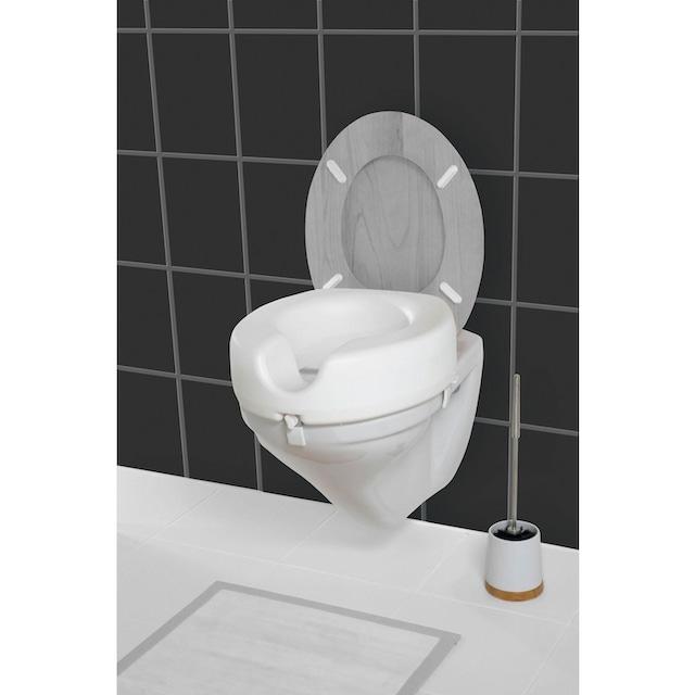 WENKO Bidet-Einsatz WC Sitz-Erhöhung Secura, 12 cm