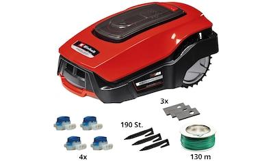 EINHELL Rasenmähroboter »FREELEXO+ LCD Kit«, für Rasenflächen bis ca. 500 m² kaufen