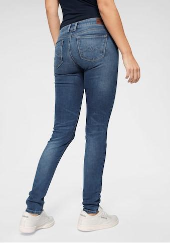 Pepe Jeans Skinny-fit-Jeans »SOHO«, im 5-Pocket-Stil mit 1-Knopf Bund und Stretch-Anteil kaufen