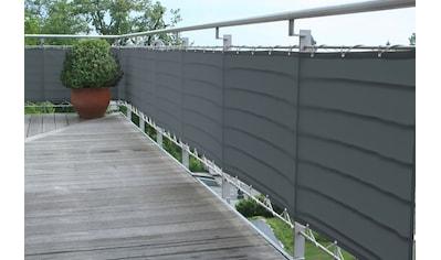 FLORACORD Balkonsichtschutz BxH: 300x75 cm, anthrazit kaufen